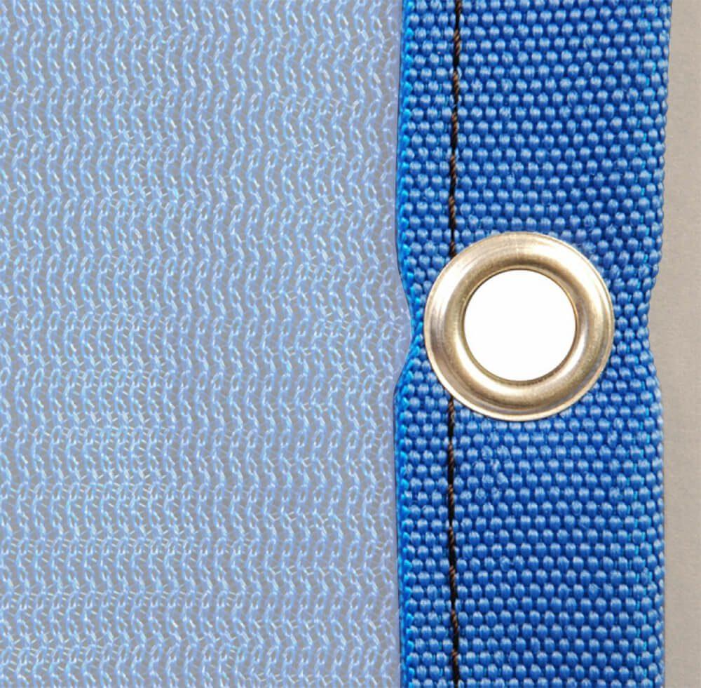Bordatura poliestere occhielli 33110010 blu