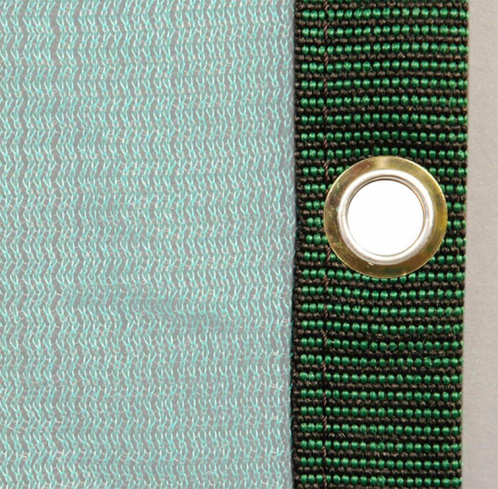 Bordatura poliestere occhielli 33110010 verde
