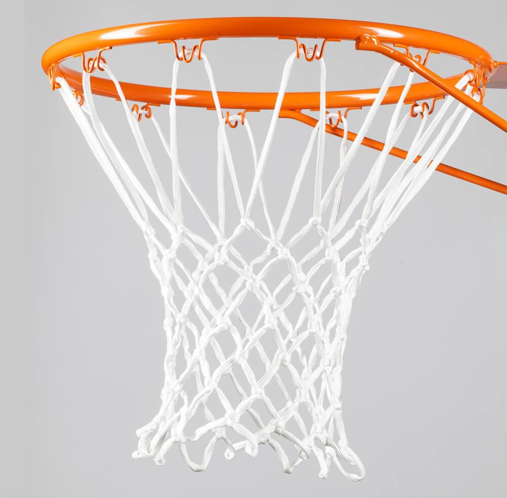 vige Rete da Basket Standard in Nylon Durevole Rete da canestro a Rete Fissa Rosso Blu Rete da Basket Accessori Sportivi da Esterno Bianco