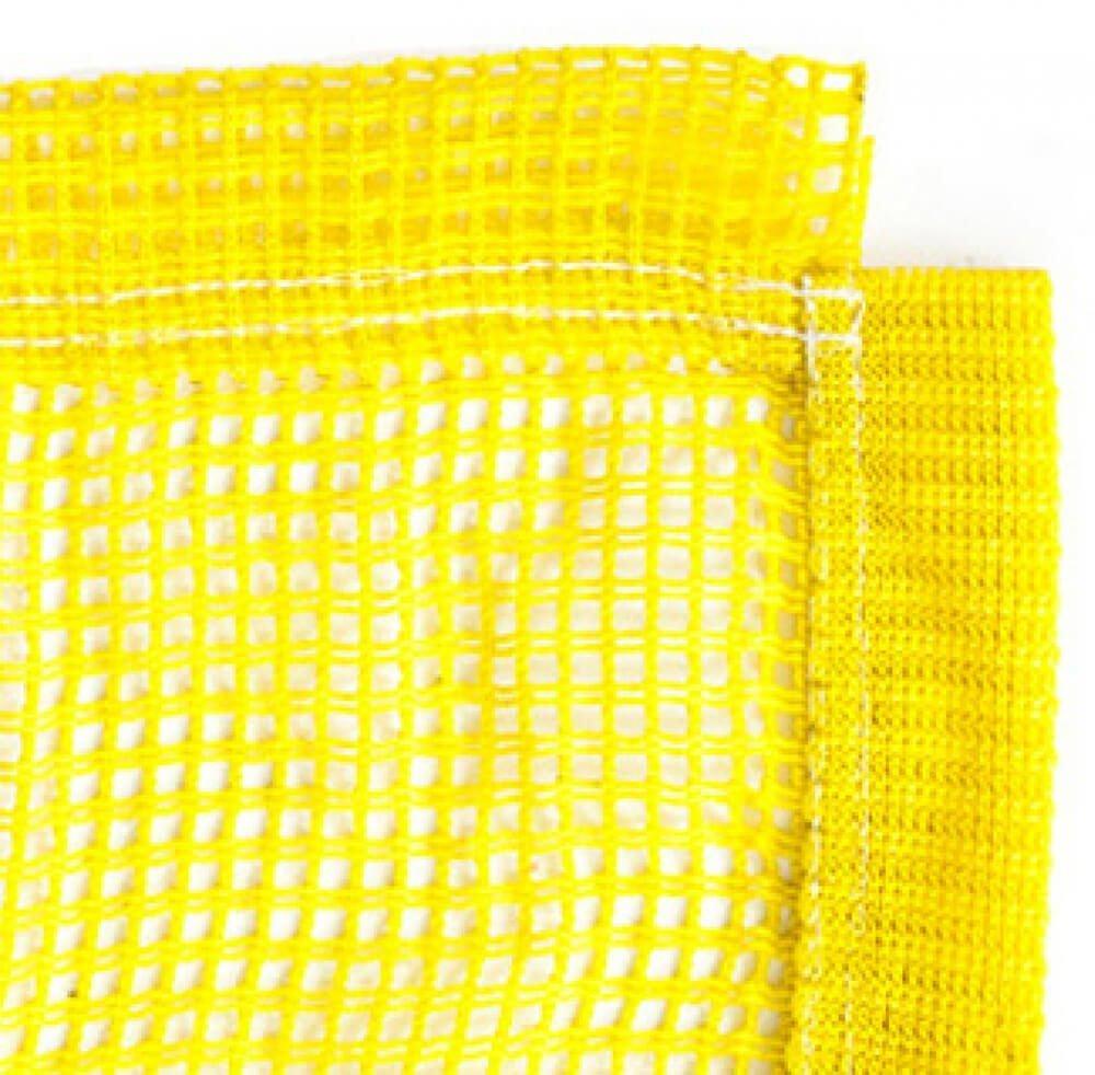 Rete tappeto elastico giallo
