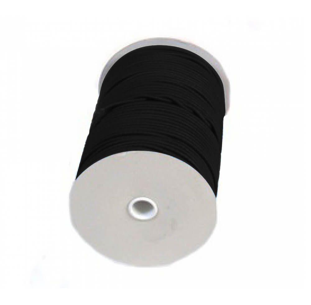 Treccia elastica nera