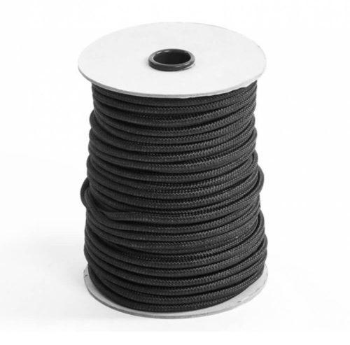 Treccia nylon nera
